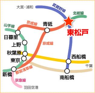 電車路線図